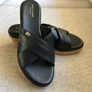 NWOT Cole Haan Briella Wedge Sandal